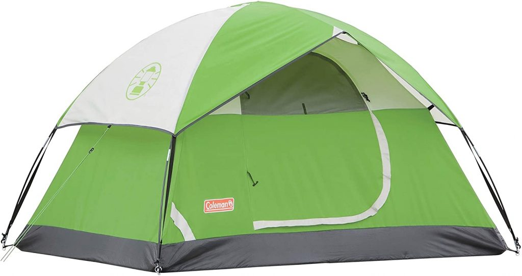Coleman Sundome Best Tents for Hot Weather