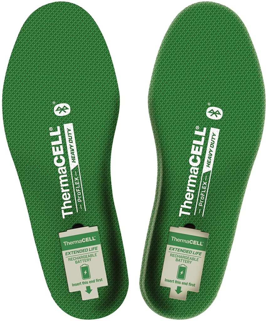 ThermaCELL Proflex Heavy Duty Heated Shoe Insoles